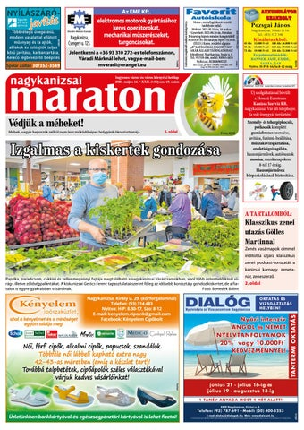 Nagykanizsai Maraton - 2021. 05. 14.