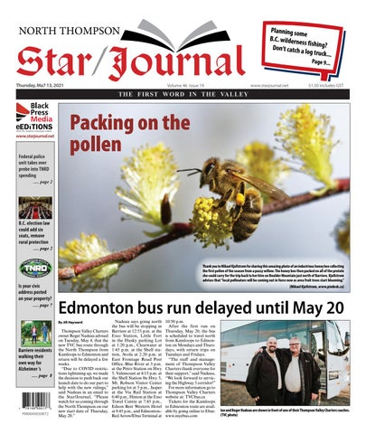 Barriere Star Journal, May 13, 2021
