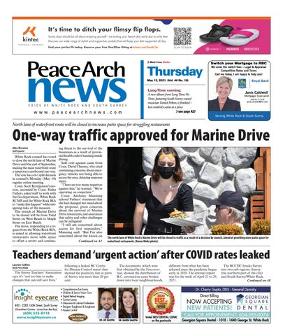 Peace Arch News, May 13, 2021