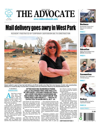 Red Deer Advocate, May 13, 2021
