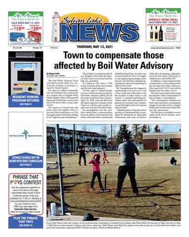 Sylvan Lake News, May 13, 2021
