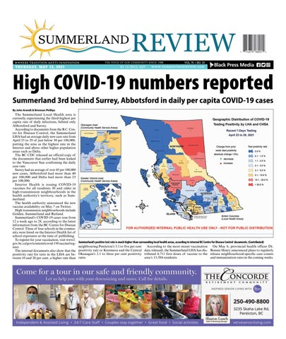 Summerland Review, May 13, 2021