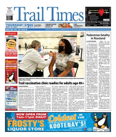 Trail Daily Times/West Kootenay Advertiser, May 13, 2021