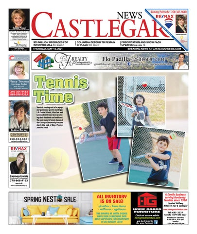 Castlegar News/West Kootenay Advertiser, May 13, 2021