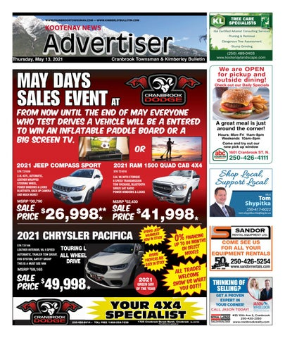 Kimberley Daily Bulletin, May 13, 2021