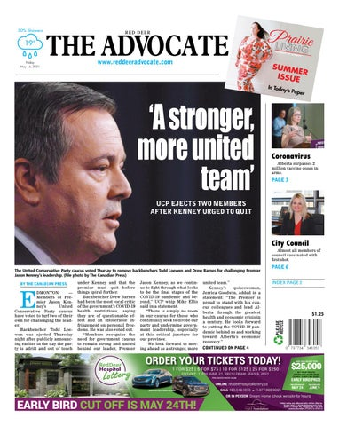 Red Deer Advocate, May 14, 2021
