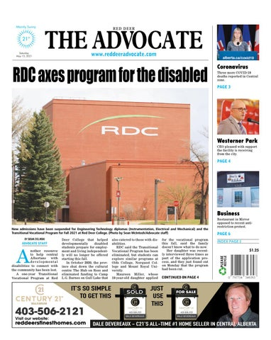 Red Deer Advocate, May 15, 2021