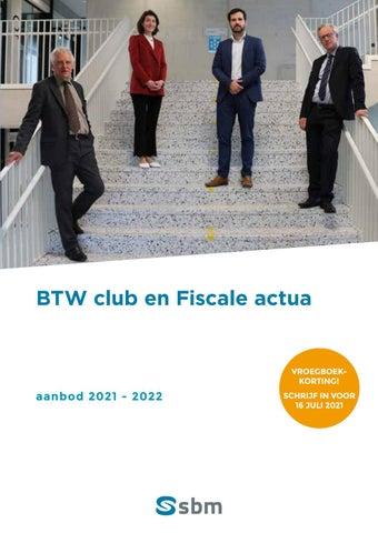 SBM Fiscale actua en BTW club 2021-2022