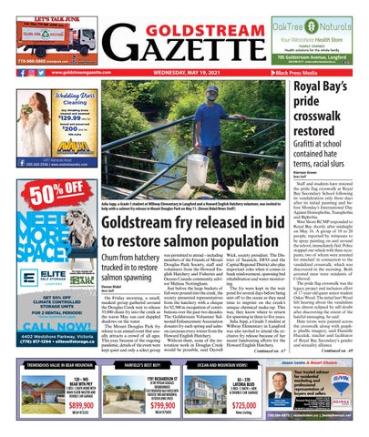 Goldstream News Gazette, May 19, 2021