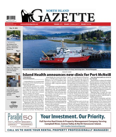 North Island Gazette, May 19, 2021