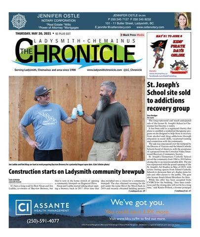Ladysmith Chronicle, May 20, 2021