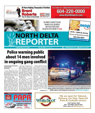 North Delta Reporter, May 20, 2021