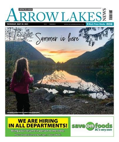 Arrow Lakes News, May 20, 2021