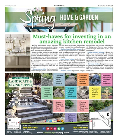 Home and Garden May 20, 2021