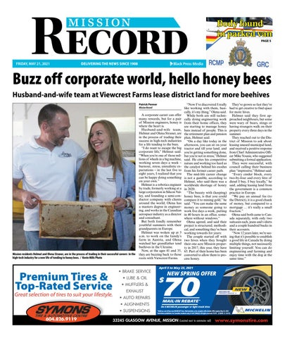 Mission City Record, May 21, 2021