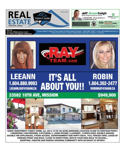 May 21, 2021 Real Estate Weekly - Abbotsford