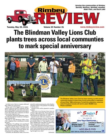 Rimbey Review, May 25, 2021
