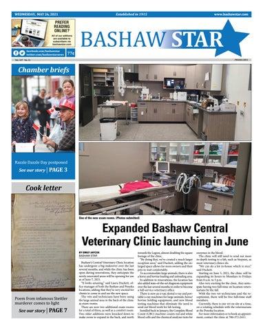 Bashaw Star, May 26, 2021