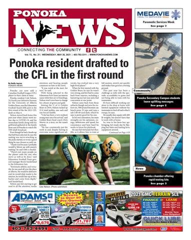 Ponoka News, May 26, 2021