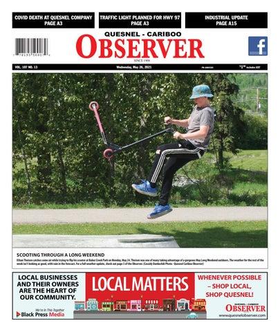 Quesnel Cariboo Observer, May 26, 2021