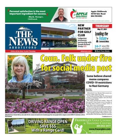 Abbotsford News, May 27, 2021
