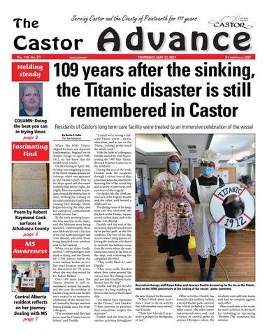 Castor Advance, May 27, 2021
