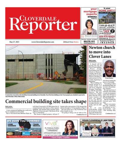 Cloverdale Reporter, May 27, 2021