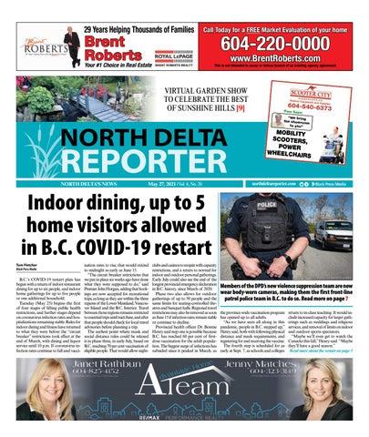 North Delta Reporter, May 27, 2021