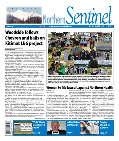 Kitimat Northern Sentinel/Northern Connector, May 27, 2021