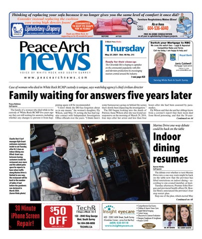 Peace Arch News, May 27, 2021
