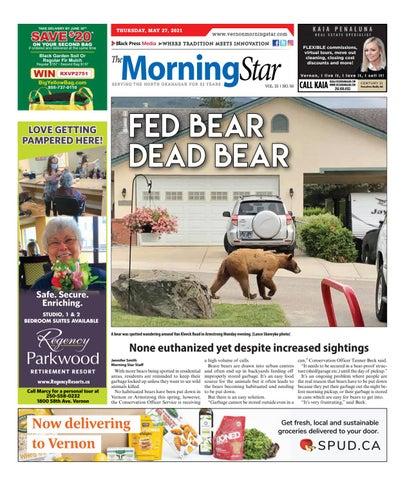 Vernon Morning Star, May 27, 2021