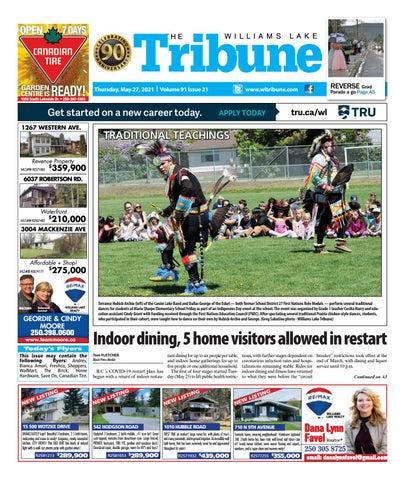 Williams Lake Tribune, May 27, 2021