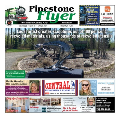 Wetaskiwin/Millet Pipestone Flyer, May 27, 2021