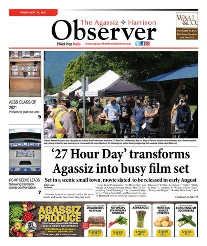 Agassiz Observer, May 28, 2021