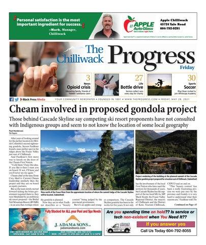 Chilliwack Progress, May 28, 2021