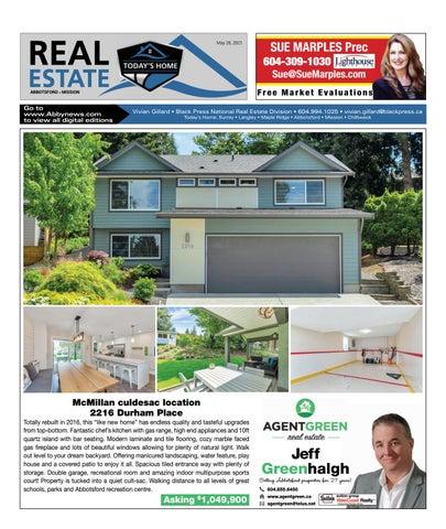 May 28, 2021 Real Estate Weekly - Abbotsford