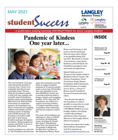 Student Success May 2021