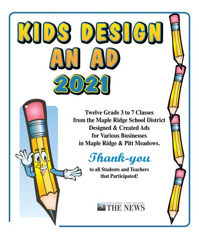 Kids Design An Ad 2021