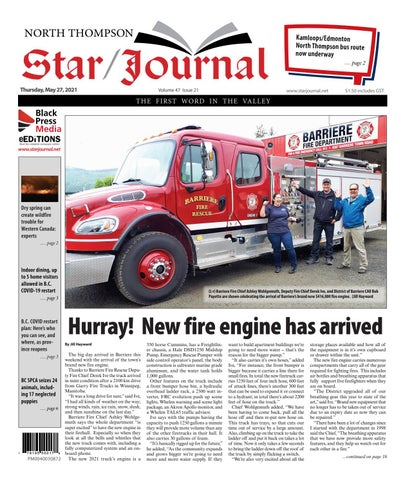 Barriere Star Journal, May 27, 2021