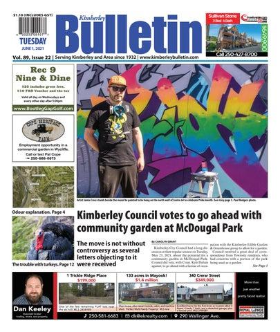 Kimberley Daily Bulletin, June 1, 2021