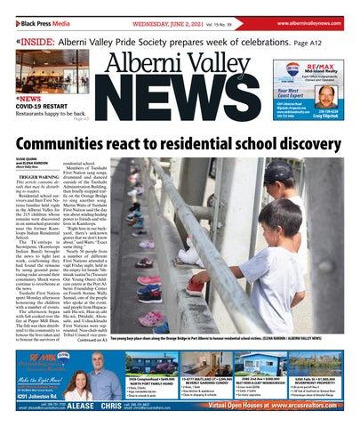 Alberni Valley News, June 2, 2021