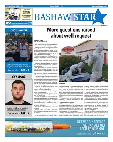 Bashaw Star, June 2, 2021