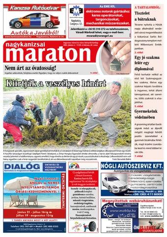 Nagykanizsai Maraton - 2021. 06. 04.