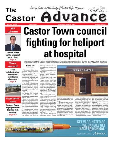 Castor Advance, June 3, 2021