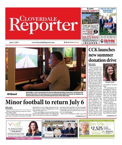 Cloverdale Reporter, June 3, 2021