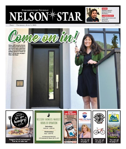 Nelson Star/West Kootenay Advertiser, June 3, 2021