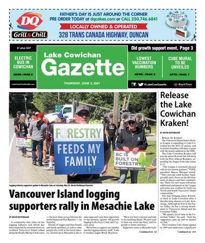 Lake Cowichan Gazette, June 3, 2021