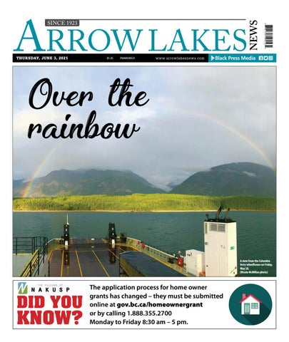 Arrow Lakes News, June 3, 2021