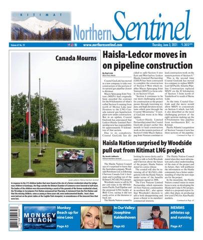 Kitimat Northern Sentinel/Northern Connector, June 3, 2021
