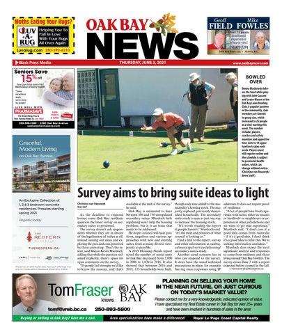 Oak Bay News, June 3, 2021